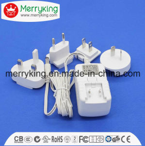 12V/1.5A/18W AC/DC Wall Mount Power Adapter with UL FCC Ce GS PSE SAA DOE VI Standard Certification pictures & photos