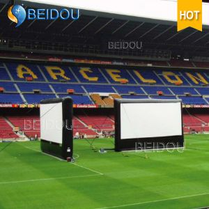 Large Events Rear Projection Screens Outdoor Inflatable Movie Screen