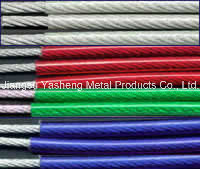 Stainless Steel Wire Rope with Nylon Coated pictures & photos
