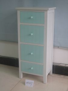 Fresh Simple Style Cabinet with 4 Drawers (FCJ04157)