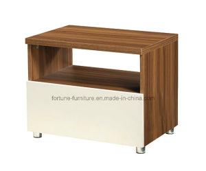 Modern Wooden Walnut & White Nightstand (B1052) pictures & photos