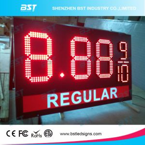 Outdoor LED Gas Price Display Sign (Remote Controll/PC controll) pictures & photos