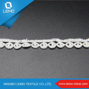 Polyestser Chemical Lace with Cloth Lace Trimming pictures & photos