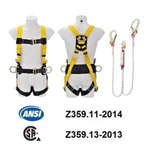 ANSI Full Body Harness (JE115021+JE322204C) pictures & photos