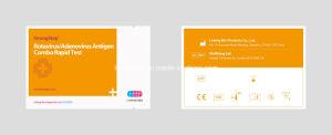 One Step Paediatric Diagnostic Kit for Rotavirus / Adenovirus Combo pictures & photos