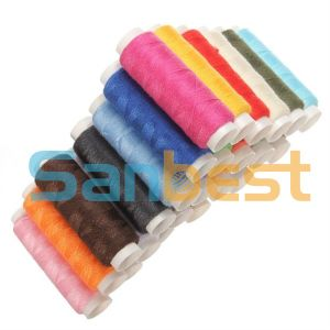 Colorful Spun Polyester Sewing Thread 200m pictures & photos
