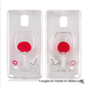 Liquid Cocktail Mobile Phone Case for Samsung Note4 pictures & photos