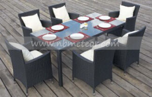 Rattan Outdoor Furntiure Dining Set Garden Wicker Table &Chair (MTC-145) pictures & photos