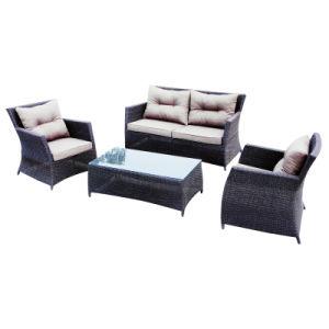 Garden Conversation Rattan Furniture Complete Aluminum Frame