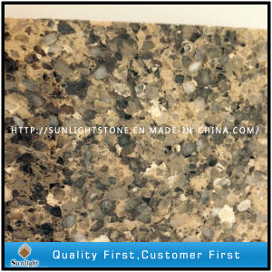 Customized Engineered Artificial Quartz Tiles for Bathroom/Kitchen pictures & photos