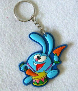 Custom Design Cheap PVC Rubber Cartoon Keychain pictures & photos