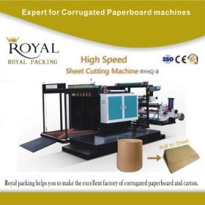 High Quality Paper Sheet Cutting Machine with ISO 9001 and Ce pictures & photos