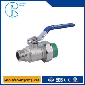 Single Union Female PPR Ball Valve Fittings pictures & photos