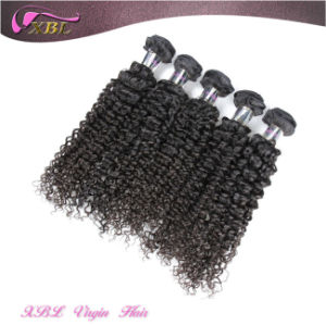 Popular Styles Curly Natural Color Raw Unprocessed Virgin Indian Hair pictures & photos