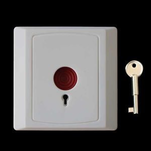 Wired Panic Urgent Button with Reset Key for Home Usage pictures & photos