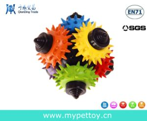 New Designer Rubber Gear Ball Toy pictures & photos