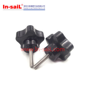 Black Thread Metal Clamping Star Knobs with M8 Bolts pictures & photos