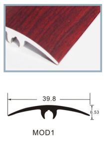 Wood Pattern Metal T-Moulding Floor Accessories pictures & photos