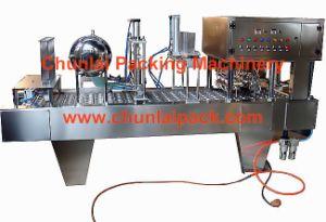 Bg60A-6c Cup Filling Pre-Cut Foil Sealing Machine (BG60A-6C) pictures & photos