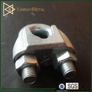 Zinc Plated Us Type Malleable Wire Rope Clip pictures & photos