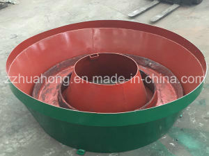 Huahong Grinding Wet Pan Mill for Gold Ore Direct Manufacturer pictures & photos