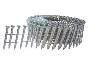 Harden, Galvanized 2.7 X 35mm Screw Shank Coil Nail pictures & photos