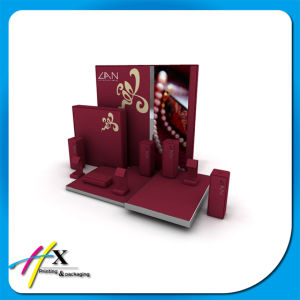 Recycled Accept Custom Wooden Jewelry Earrings Display Stand pictures & photos