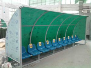 Good Quality Stadium Team Shelter / Player′s Bench pictures & photos