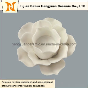 Colorful Flower Shape Ceramic Candle Holder (Home Decorative) pictures & photos