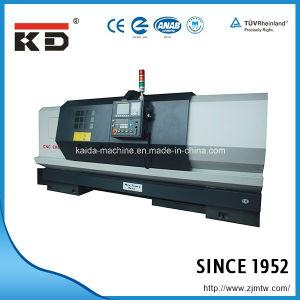 Economical High Precision Flat Bed CNC Lathe Machine Ck6156/1500 pictures & photos