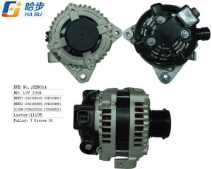 100% New Alternator for Toyota Camry 2.4L W/ Clutch Pulley 100A *One Yr Warranty pictures & photos