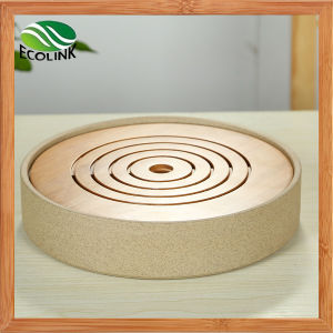 Bamboo Small Round Tea Tray pictures & photos