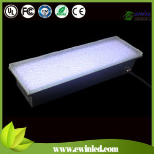 10*20cm Tempered Glass LED Brick with RGB