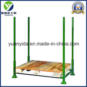 Powder Coating Storage Pallet Rack with Wooden Pallets pictures & photos