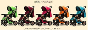 2016 Top Quality Umbrella-Baby Stroller with En1888 Green pictures & photos