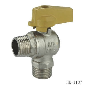 (HE1134--HE1139) Brass Gas Valve Pn16 with Wing Handle for Water, Oil pictures & photos