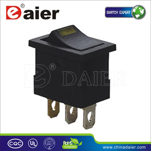 Automotive Switch with Lamp on-off Rocker Switch for Car (MIRS-101-3D-2) pictures & photos