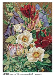 Flower Painting Art Mosaic Decoration (MD1066) pictures & photos