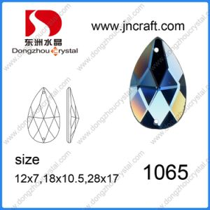 Dresses Sew-on Crystal Flat Back Foiled Stone for Garment pictures & photos