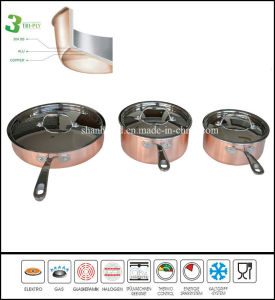 Newest 3 Ply Happy Baron Cookware Set pictures & photos