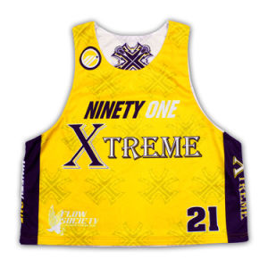 Custom Reversible Sublimation Mesh Lacrosse Sleeveless Shirts/Jerseys/Wear pictures & photos