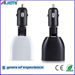 Mini and Stylish USB Car Charger 3.4A with Display