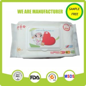 Alcohol Free Nonwoven Soft Natural Pure Water Comfort Baby Tissue pictures & photos
