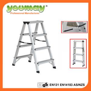 En131 Approved Foldable Ladder Ad0404A
