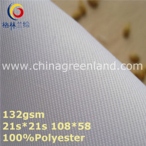 Twill 100%Polyester Woven Fabric for Textile Pants (GLLML365) pictures & photos