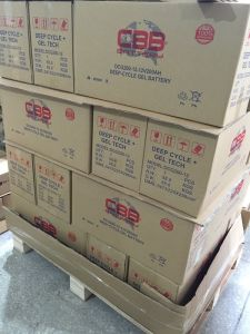 Maintenance Free Solar Acid Deep Cycle AGM Battery 12V200ah pictures & photos