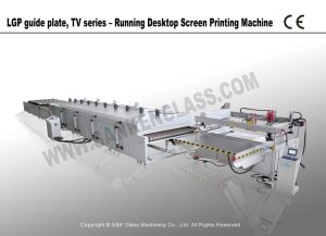 LGP, TV Series Running Desktop Silk Screen Printing Machine pictures & photos