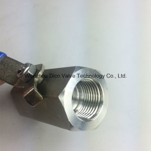 2000wog Stainless Steel Hex 1PC Ball Valve pictures & photos