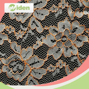 Mesh Fabric Knitting Machine Cheap Lace Fabric Stretch Lace Fabric pictures & photos