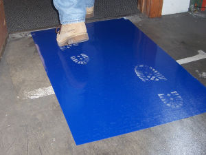 PE Blue Color Sticky Mat for Clean Room pictures & photos